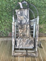 Climbing Deer Stand in The Woodlands, Texas