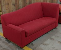 MODERN RED COUCH in Cherry Point, North Carolina