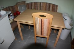 Kitchen Corner Table and chairs/bench in Ramstein, Germany