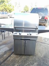 FireMagic stainless steel gas grill in Bellaire, Texas