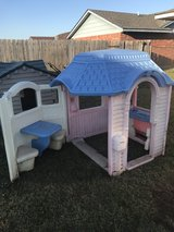 Back yard play houses in Lawton, Oklahoma