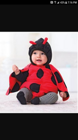Carter's 24 month Lady Bug Costume in Hinesville, Georgia