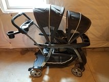 Graco double stroller in Morris, Illinois