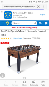 New Castle Foosball Table in 29 Palms, California
