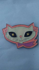 Cat Belt Buckle in Fort Lewis, Washington