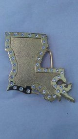 Louisiana Belt Buckle in Tacoma, Washington