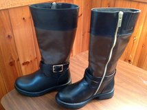 Girl size 11 NEW black/ brown riding boots in Bolling AFB, DC