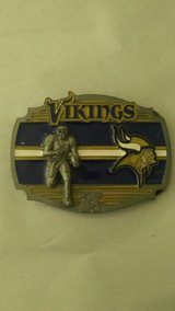 Minnesota Vikings Belt Buckle in Tacoma, Washington