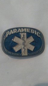 Paramedic Belt Buckle in Tacoma, Washington
