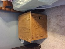 Oak bed side stand in Spring, Texas