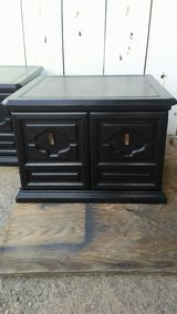 solid black end tables in Yucca Valley, California