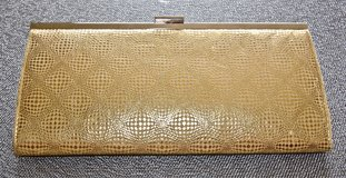 *REDUCED* Gold Clutch in Okinawa, Japan