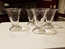 Set of 4 Glass Sundae Cups in Sandwich, Illinois