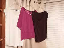 Women's L casual shirt lot of 9 in Alamogordo, New Mexico