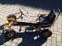 Kid pedal cart in Hohenfels, Germany