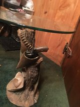 Cowboy end table in Leesville, Louisiana