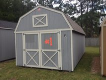 12x24 Lofted Barn Storage Building Shed RED TAG SPECIAL!! in Moody AFB, Georgia