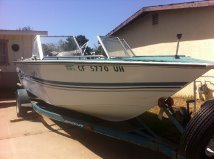 19 ft Spectrum 130 mercursier Must sell - $1500 in Camp Pendleton, California