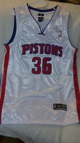 Detroit Pistons in Fort Lewis, Washington