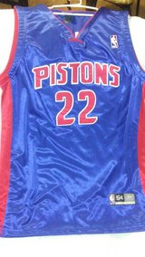 Detroit PIstons #22 in Fort Lewis, Washington