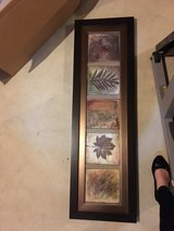framed artwork-leaves with neutrals in Plainfield, Illinois