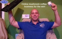 Free websites in 20 languages for this mushroom coffee business in Los Angeles, California