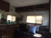 Jack Knife Sofa and Misc. Camper Lot in Kingwood, Texas