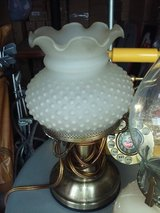 Vintage Hobnail Lamp in The Woodlands, Texas