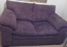 Loveseat-suede in Sanford, North Carolina