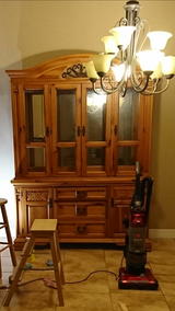 Broyhill solid wood hutch in Livingston, Texas