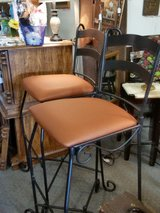 Pair heavy metal barstools in Fort Leonard Wood, Missouri