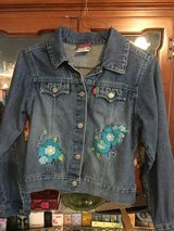 Girl's Embroidered Jean Jacket in Fort Campbell, Kentucky