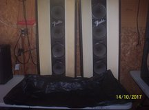 Rare Vintage Pair Fender PA Speakers in Fort Leonard Wood, Missouri