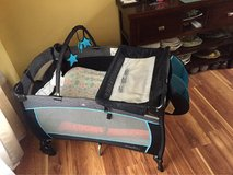 pack&play with extra mattress and sheet in Shorewood, Illinois
