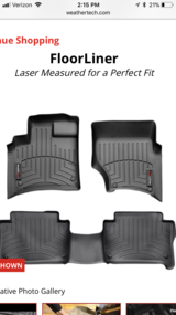 Audi Q7 WeatherTech Floor Liners in Schaumburg, Illinois