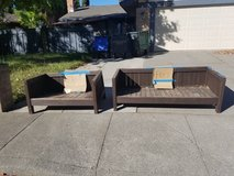 FREE outdoor furniture - fixer uppers - made of wood in Fairfield, California