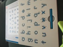A to Z magnatab and magnetic pen lowercase in Fort Carson, Colorado