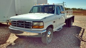 1995 Ford F350 1 Ton Extended Cab Flatbed Pickup in Alamogordo, New Mexico