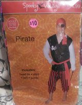 Pirate Halloween Costume (3 of them) in Spring, Texas