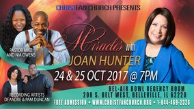 Miracles with Joan Hunter event in Belleville, Illinois