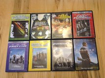 "Movie Collection – Fast 'N' Furious Series Discs 1-7 and ""Shooter"". in Fort Lewis, Washington"