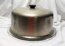 Vintage Antique Cake Pie Cover Holder Plate in Kingwood, Texas