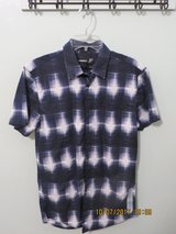 J.Ferrar Slim Fit Men's Small 100% Cotton Short Sleeve Casual Shirt in Glendale Heights, Illinois