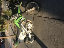Kawasaki dirt bike in Fairfield, California