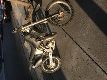 Dirt bike in Fairfield, California