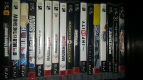 PS3 Games - 17 in Fairfield, California