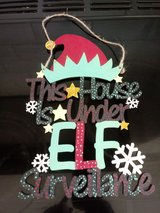 elf plaque great if you have elf on the shelf in Lakenheath, UK