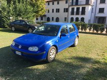Blue 1998 Volkswagen Golf in Aviano, IT