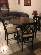 Kitchen table w/ 4 bar stools in Ramstein, Germany