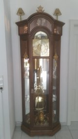 Grandfather clock in Hohenfels, Germany